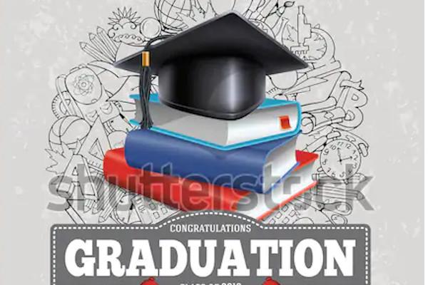 graduation invitation announcement flyer