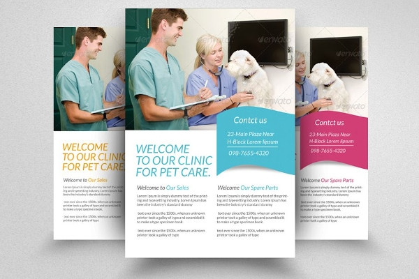 pets safety clinic flyer