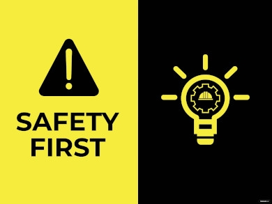 safety sign example