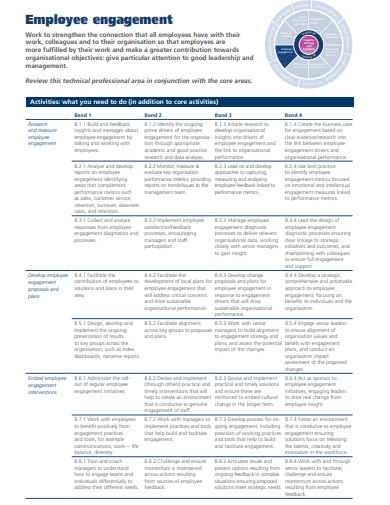 sample employee engagement strategy