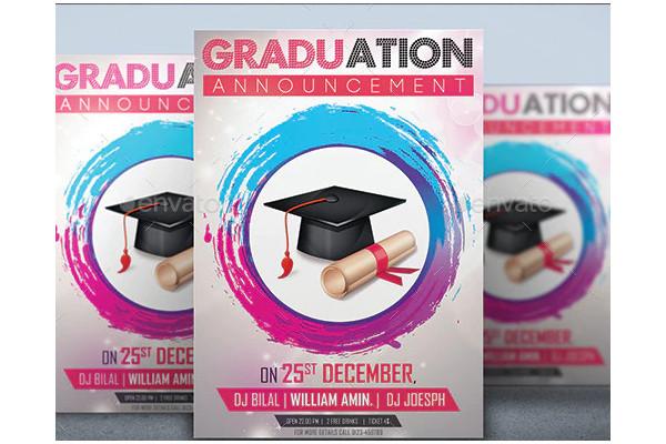 sample graduation ceremony announcements