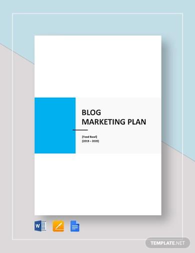 blog marketing plan