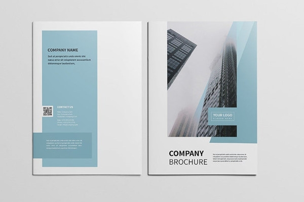 cleaning company profile brochure