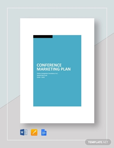 conference marketing plan