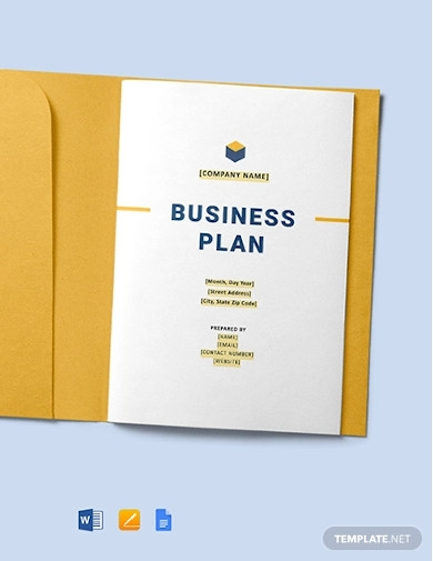 construction company business plan example