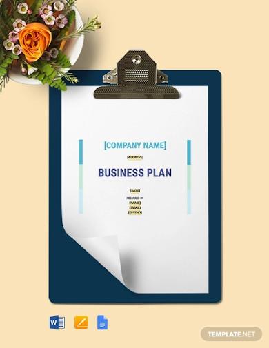 construction management business plan