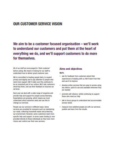 customer service improvement plan