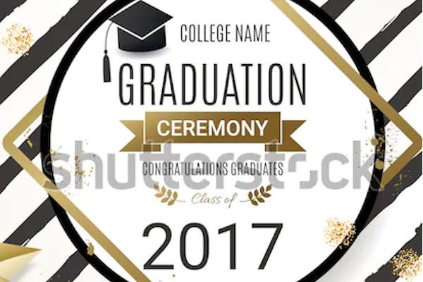 graduation party ceremony invitation