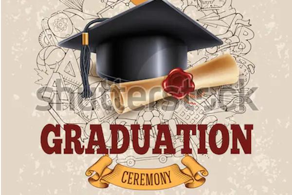 graduation and diploma party ceremony invitation