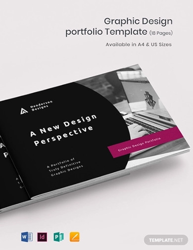 graphic design portfolio templates