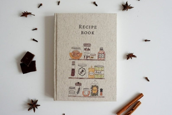 handmade cookbook