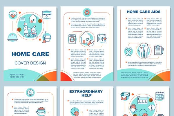 home health care brochure template