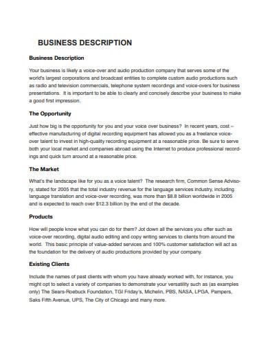 internet marketing plan for voice actors