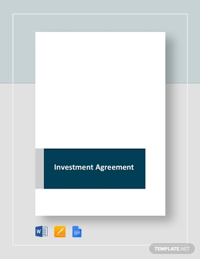 investment agreement example