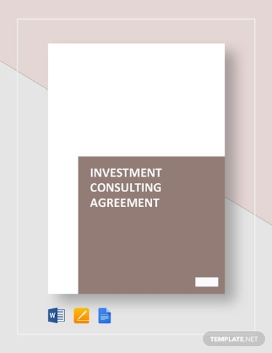 investment consulting agreement