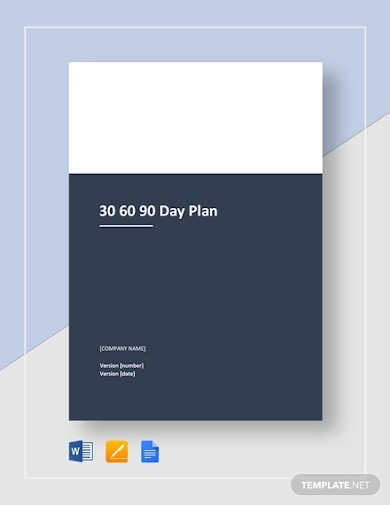 printable 30 60 90 day plan
