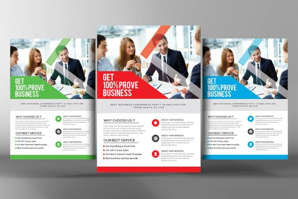 sample accounting firm flyer template