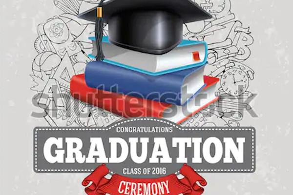 sample graduation party place announcement
