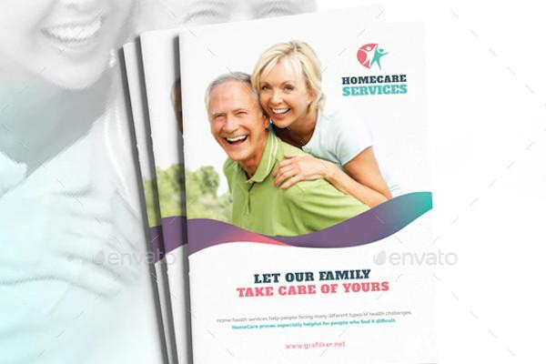 sample home care brochure templates