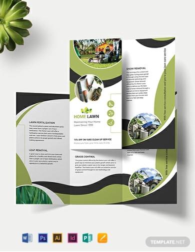 shome care tri fold brochure templates