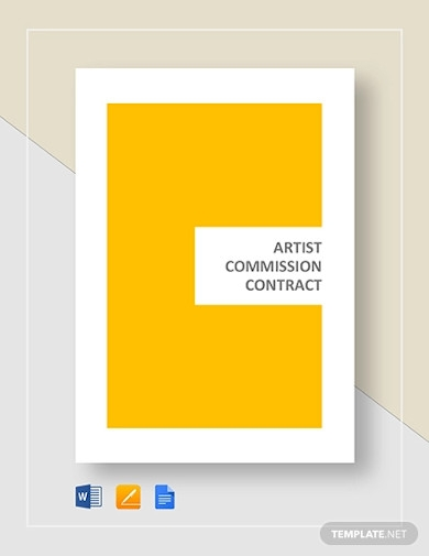 artist commission contract