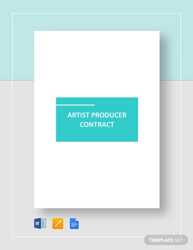 artist producer contract