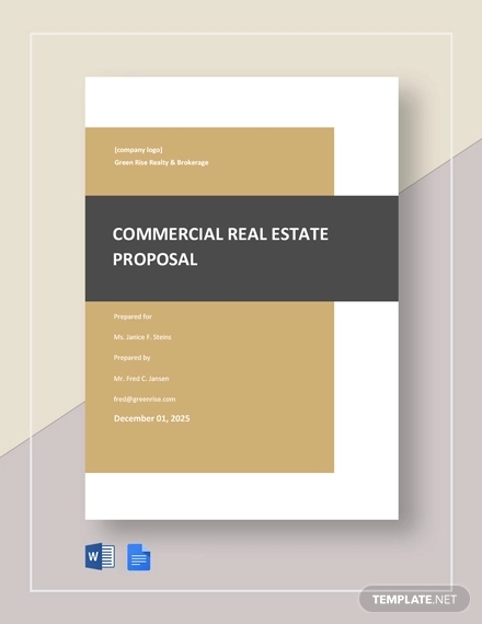 commercial real estate proposal template1