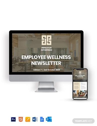 employee wellness newsletter