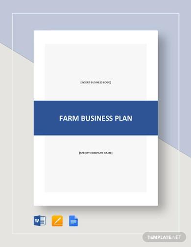 farm business plan template