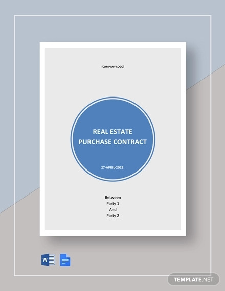 free commercial real estate purchase contract example