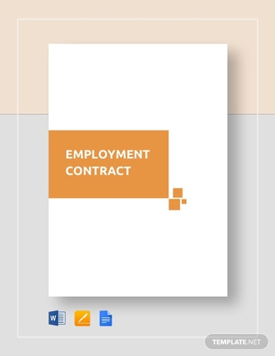 hotel employment contract
