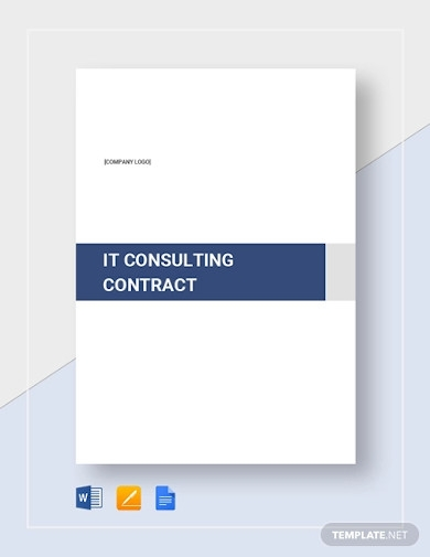 it consulting contract