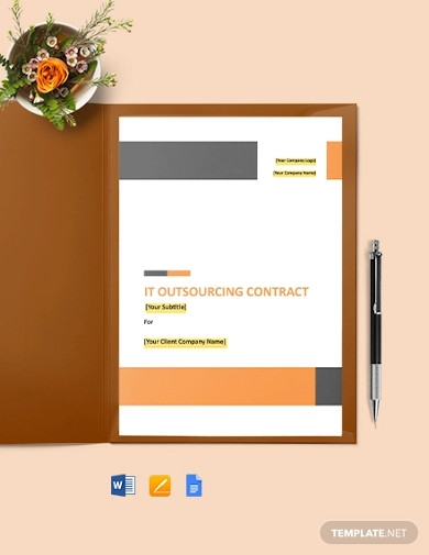 it outsourcing contract example