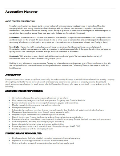 marketing account manager resume example