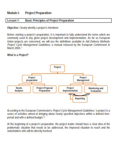 ngo project management proposal