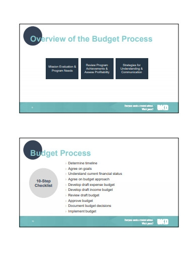 nonprofit budgeting example
