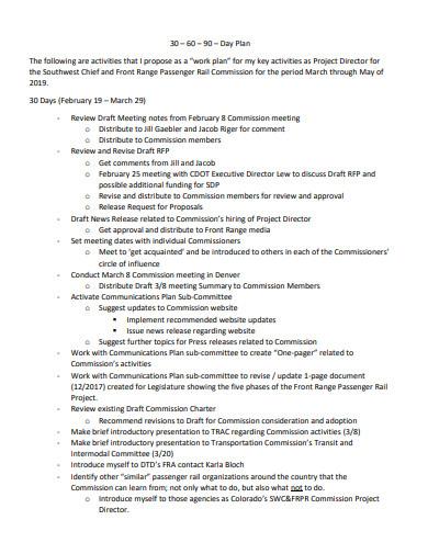 printable 30 60 90 day action plan