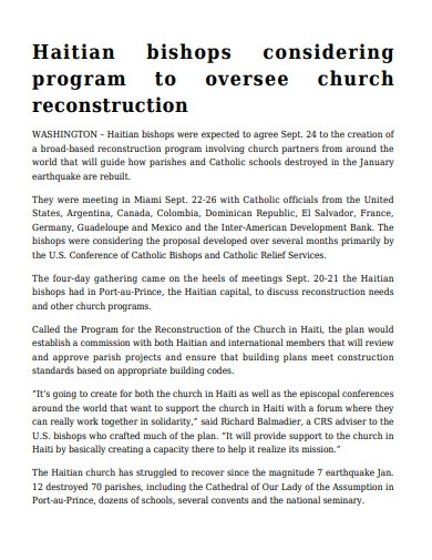 printable church meeting