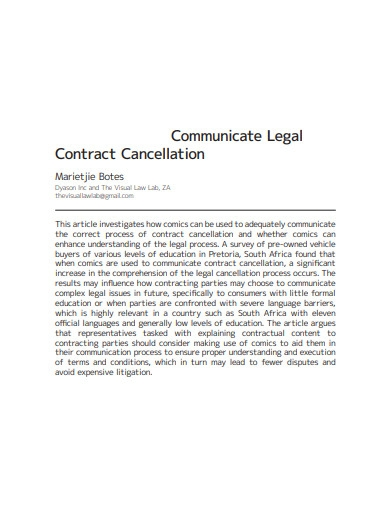 printable legal contract