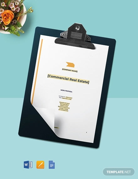 real estate agent proposal template1