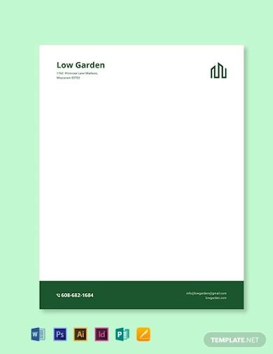 real estate letterhead template