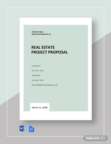 real estate project proposal template1