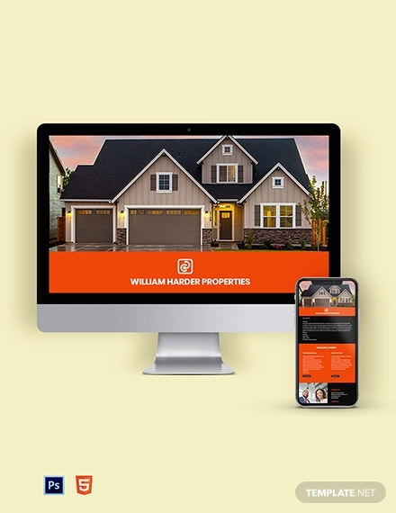 real estate property email newsletter template