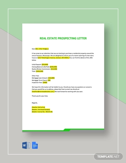 How To Write Commercial Real Estate Prospecting Letters  7