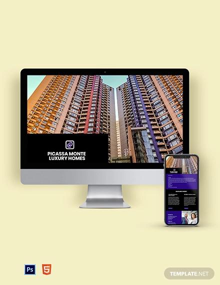 realtor real estate agency newsletter template