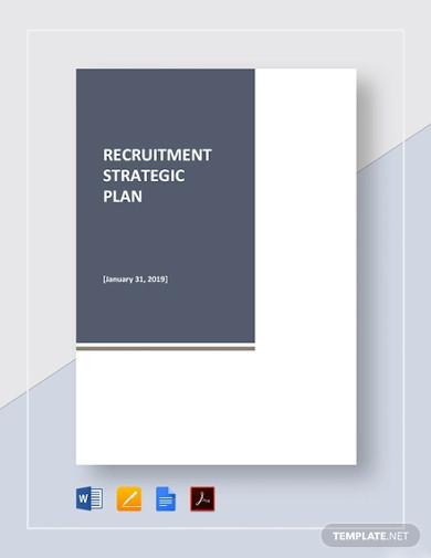 recruitment strategic plan