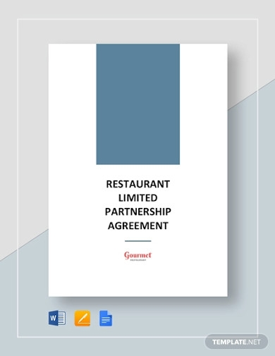 restaurant limited partnership agreement