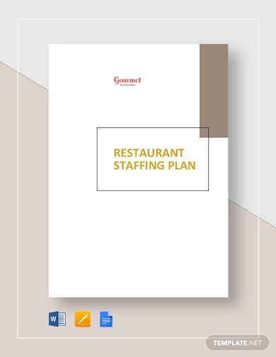 restaurant staffing plan