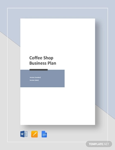 sample coffee shop business plan example