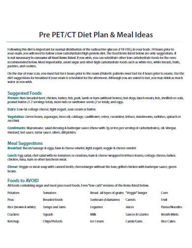 diet plan in pdf